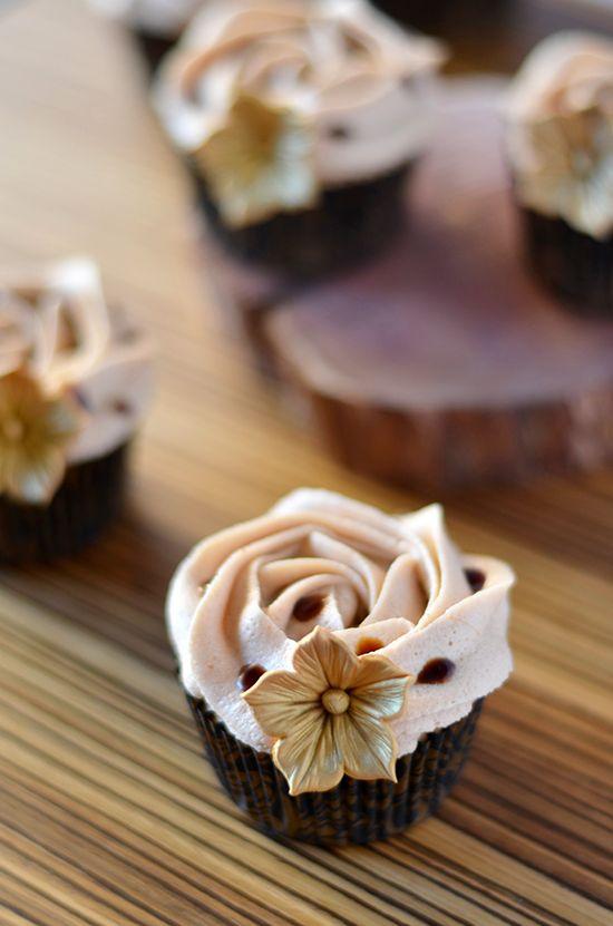 Cupcakes de caramelo... ¿Por qué se hunden mis cupcakes?