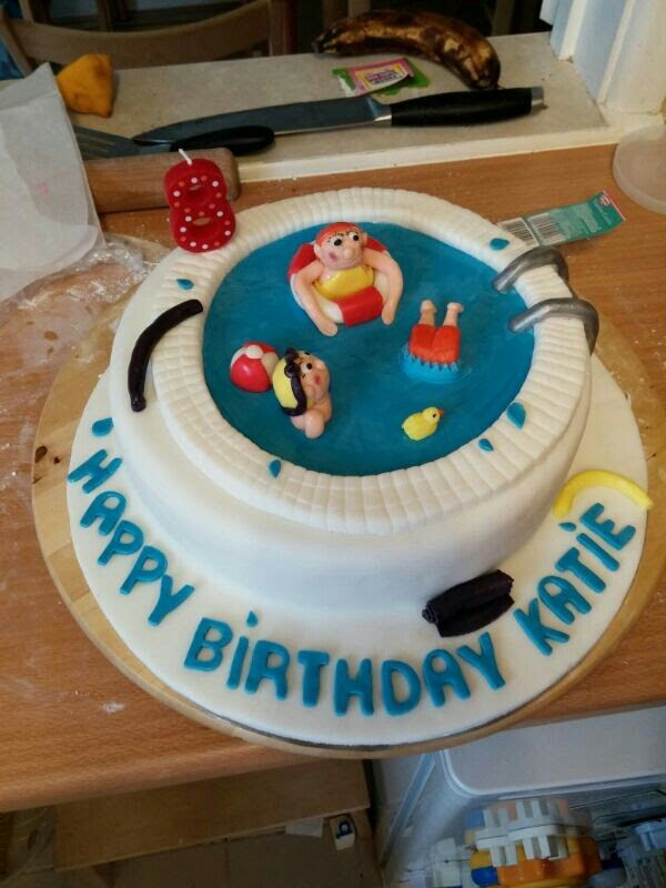 78 Ideas About Swimming Pool Cakes On Pinterest Swimming Cake Pool Cake And Cute Birthday Cakes