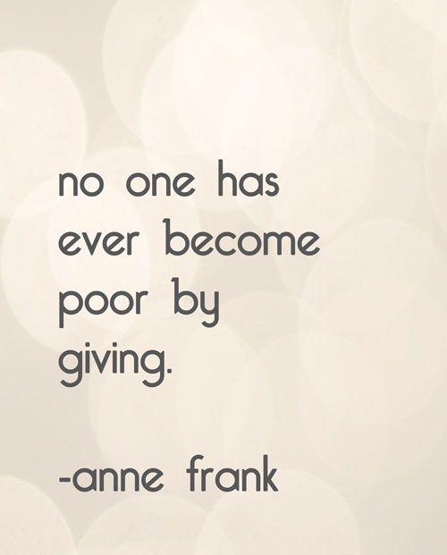Core Value - Generosity