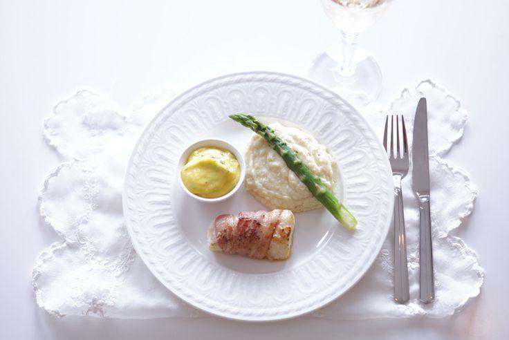 Oppskrift-onsdag: Baconsurret torsk | Caroline Berg Eriksen