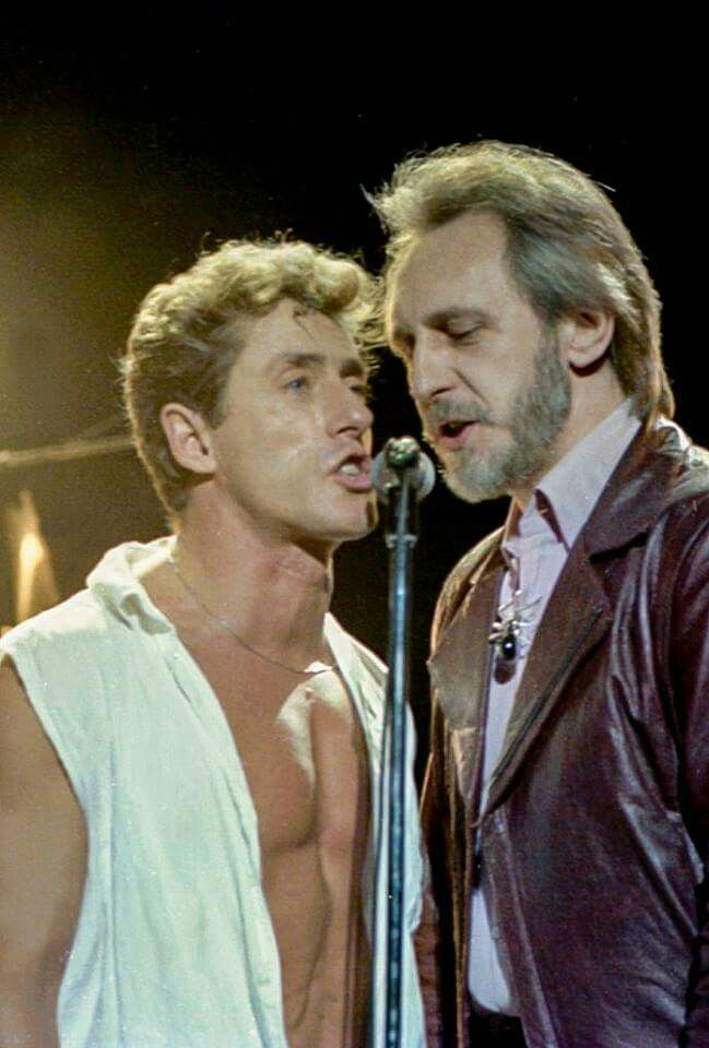 Roger Daltrey and John Entwistle The Who