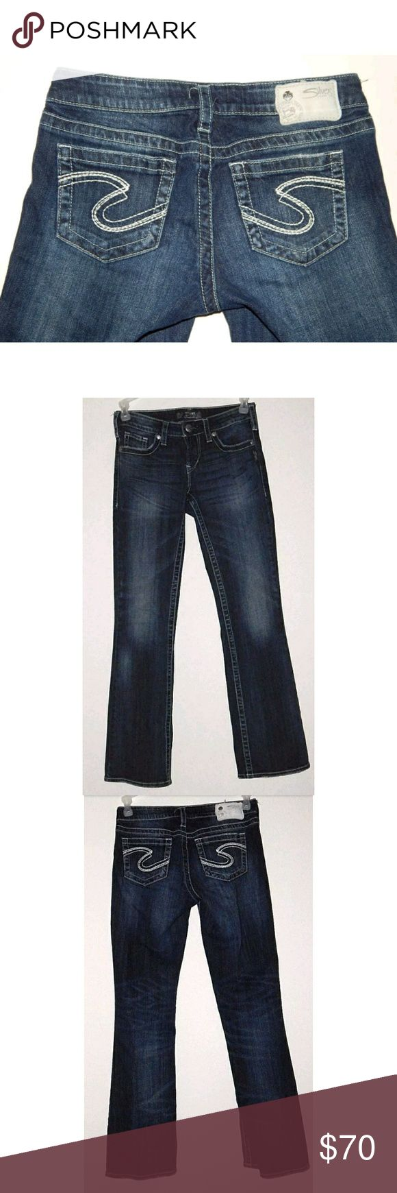 Silver Jeans Aiko Bootcut W26/ L31 Silver Jeans Aiko Bootcut W26/ L31  Excellent preowned condition!  Measurements:  Waist:14in Inseam:30.5in Outseam:38in Front Rise:8in Back Rise:13in Hips:16.5in  A005 Silver Jeans Jeans Boot Cut