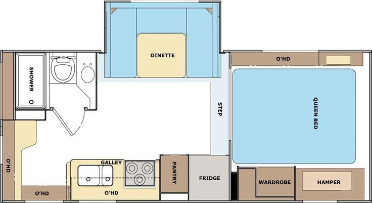 Small Camper With Slide Out >> Lance 1191 Floor Plan