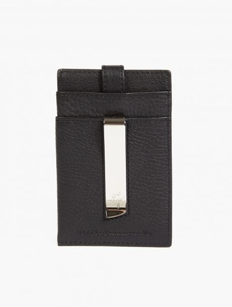 Leather 'Kennedy' Money Clip,
