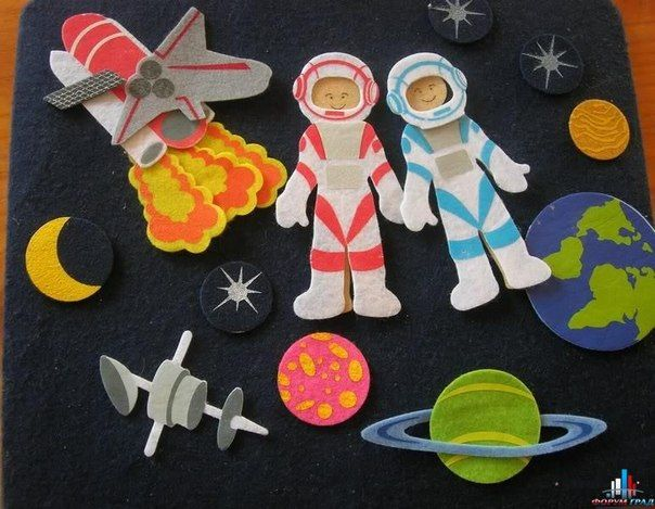 Поделки своими руками космонавта
