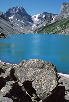 Day hikes in the Absaroka-Beartooth wilderness near Red Lodge, Montana. This happens to be Black Lake which my dog and I would love to see :)