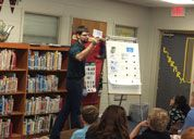 Marshall County TN Solid Waste - Education presentation at school library