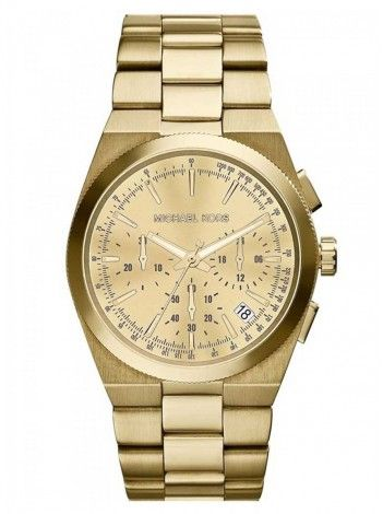 MICHAEL KORS Channing gold stainless steel chronograph ΜΚ5926 http://kloxx.gr/brands/michael-kors/michael-kors-channing-gold-stainless-steel-chronograph-mk5926