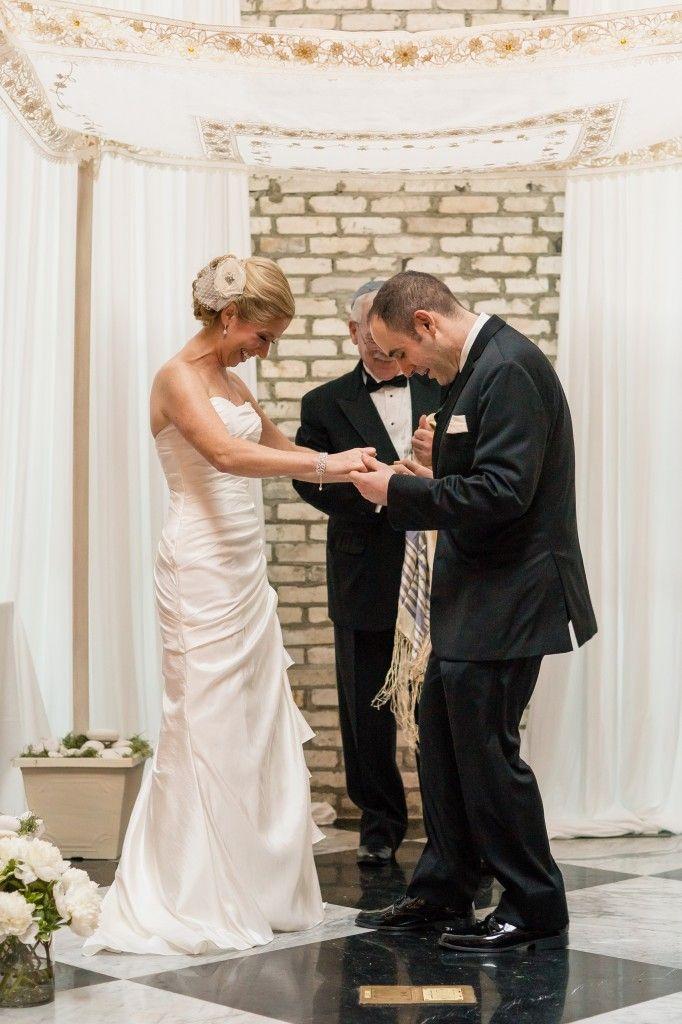 Smashing The Glass Romantic Jewish Wedding Inspiration