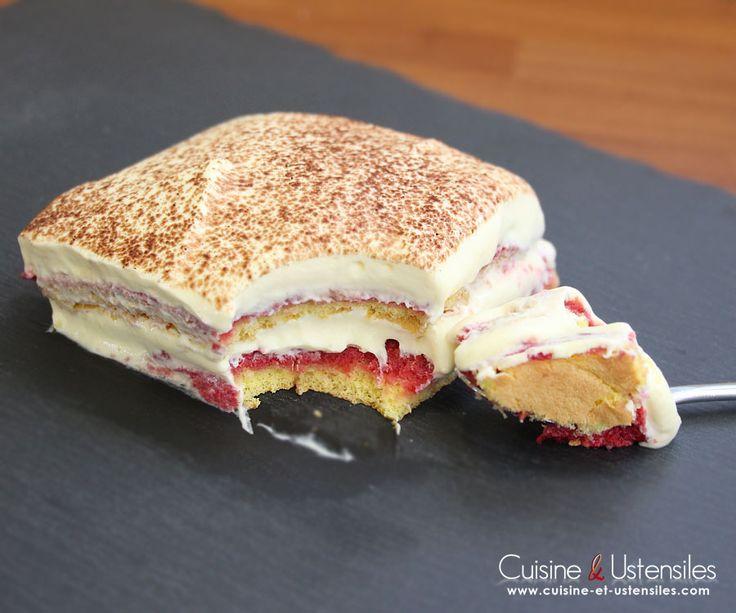 Ingrédients (pour 8 parts) : Pour le biscuit à la cuillère : - 80 g de farine - 80 g de sucre - 30 g de sucre glace - 3 ... Lire la suite…