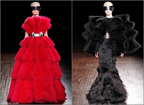Alexander McQueen Fall Winter 2012-2013 Paris Fashion Week: Fashion Week