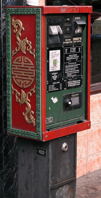 Chinatown Parking Machine Liverpool