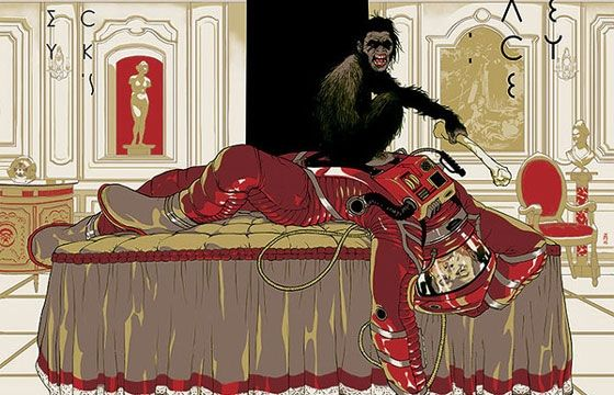 Tomer Hanuka's Stanley Kubrick Poster Series - http://www.wilderdreams.flight-of-fantasy.club/tomer-hanukas-stanley-kubrick-poster-series/