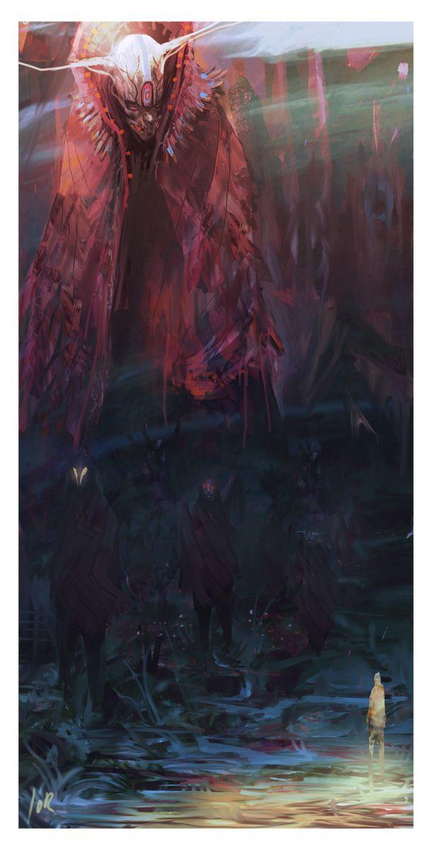 O culto de sangue. Um culto com base nos ensinamentos do Deus do Sangue. Acreditam na vinda do arauto vermelho ao mundo e que ele preparara o mundo para a vinda do imperador vermelho.
