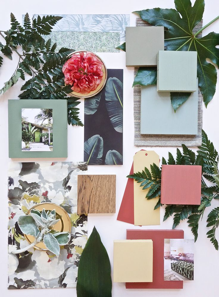 My June Moodboard for Farrow&Ball-Eclectic Trends #moodboard