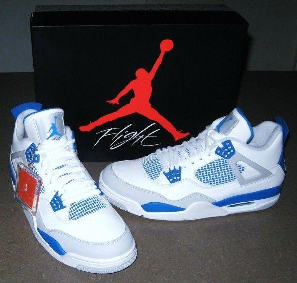 Nike Air Jordan Retro 4 2012 Size 9 Deadstock Sneakers