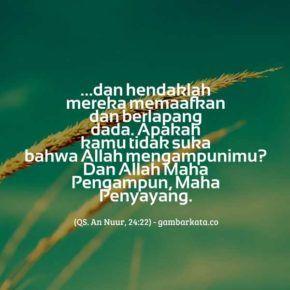 Gambar Kata Kata Al Quran Dan Hadits Tentang Memaafkan