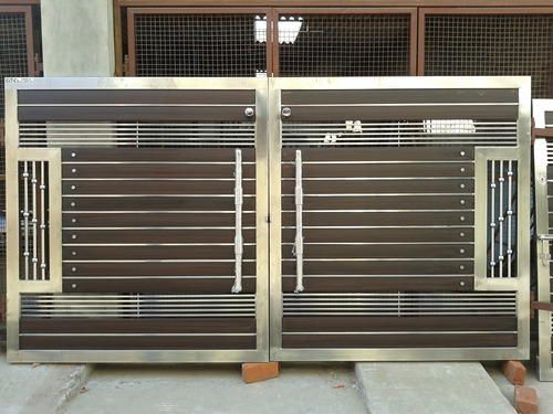 Wooden And Steel Gates   Steel Gate Manufacturer From Jalanu2026