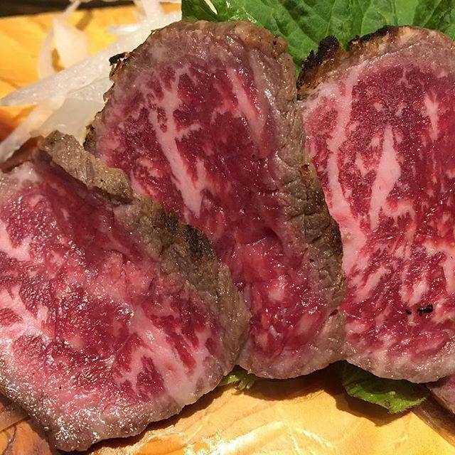 ninja is person. eat!Japanese loast beaf! 忍者も人の子。ローストビーフを食べる。 #eat #japan #日本 #instapic #food  #photoshoot #photo #photography #picture #instafood #cooljapan #style #world #worldwide #good #happy #wonderful #beaf #meat #loastbeef #肉 #ローストビーフ