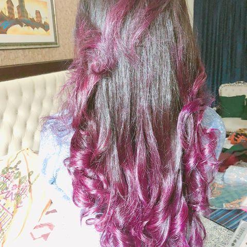 A mess.... just like my life😂 #bowbraid #elegant #fishtail #formal #curls
