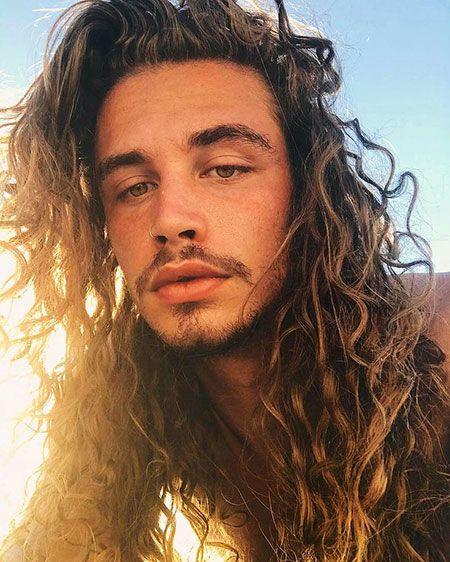 20 Haarschnitte Für Männer Mit Langen Haaren Schöne Männer