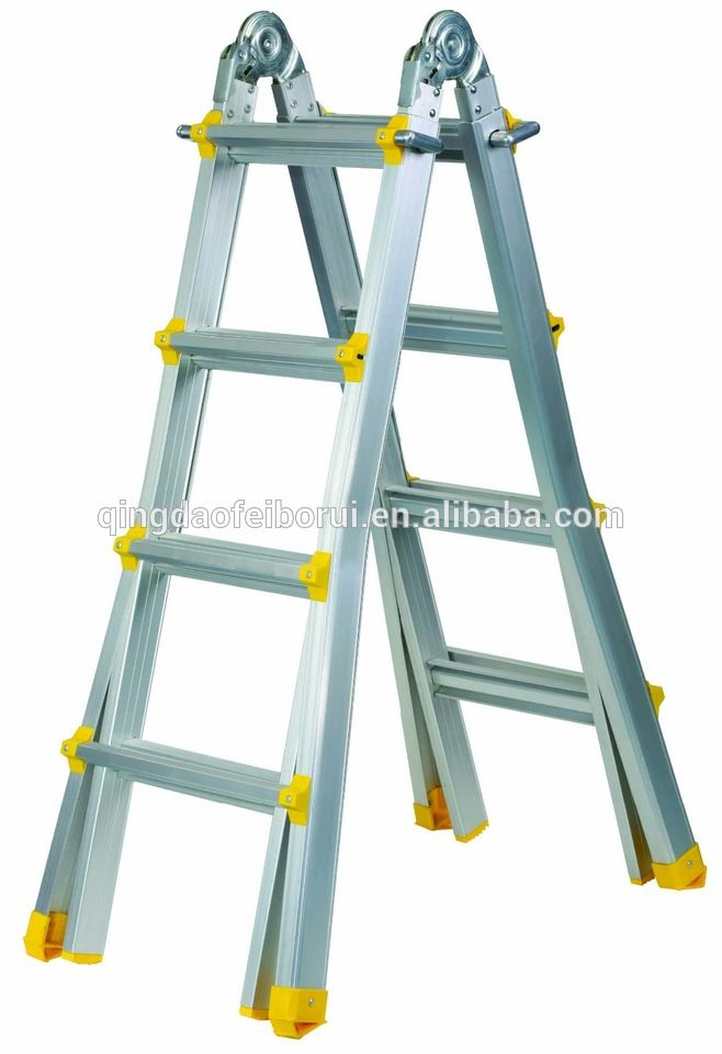 WR2499B Multi-purposes Aluminium Ladder folding agility ladder step ladder