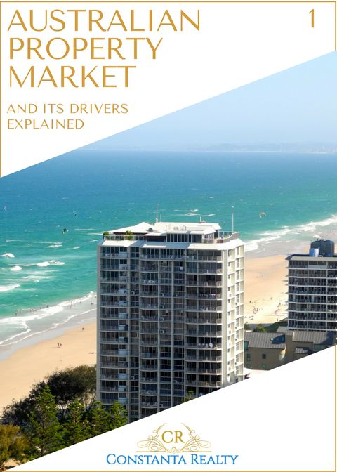Gold Coast, Australia on photo.  Article: Australian property market and its drivers explained