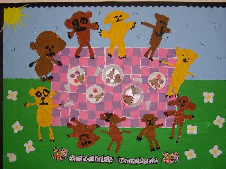 Teddy Bears' Picnic classroom display photo - Photo gallery - SparkleBox