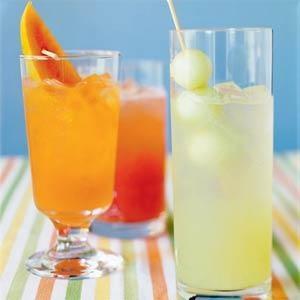 Melon Agua Fresca -Very ripe cantaloupe, honeydew, and watermelon all ...