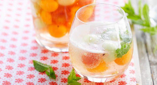 Cocktail rafraîchissant au melonVoir la recette du Cocktail rafraîchissant au melon >>