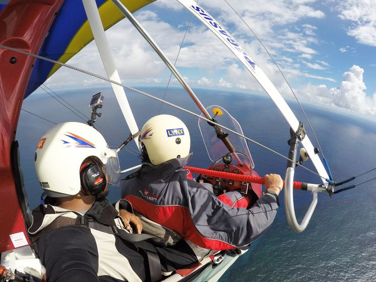 Here's an exhilarating way to see Barbados!  Join pilot Paul Nugent on his microlight aerial tours of the island...