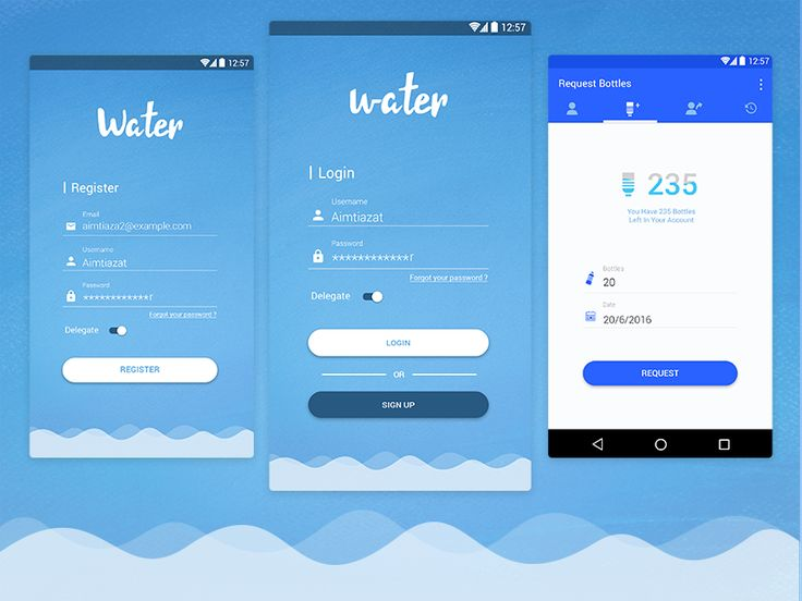 Water Refill Management App by Mohamed Atwa