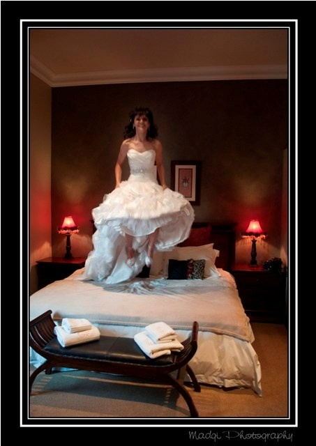Jump of Joy on your Wedding Day