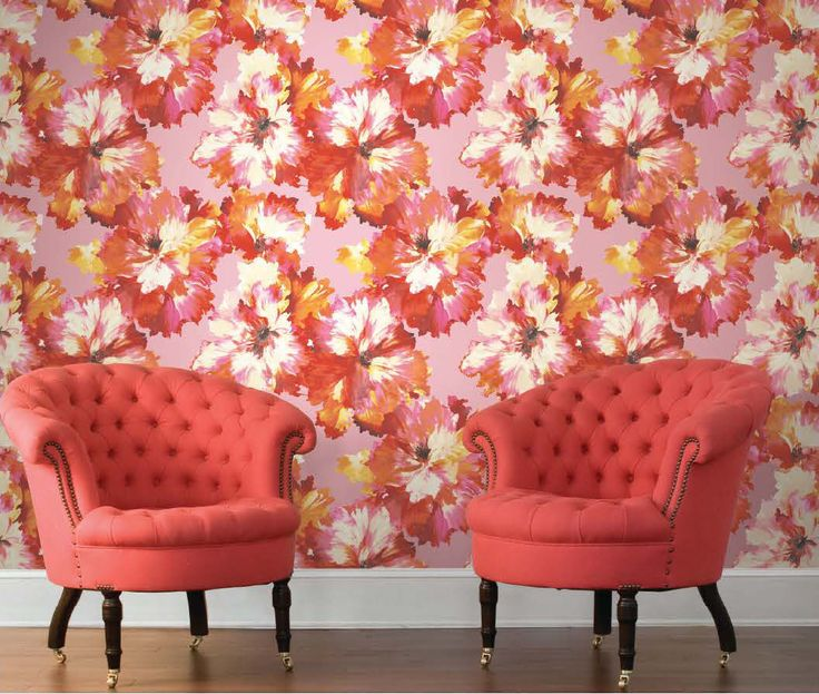 17 best Wallpaper | Large Scale Floral images by TM Interiors ...