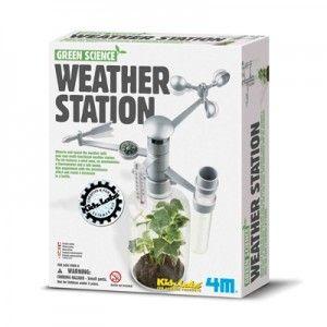 Observeer het weer met je zelfgemaakte multifunctionele weerstation.