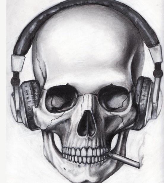 caveira, music, musica