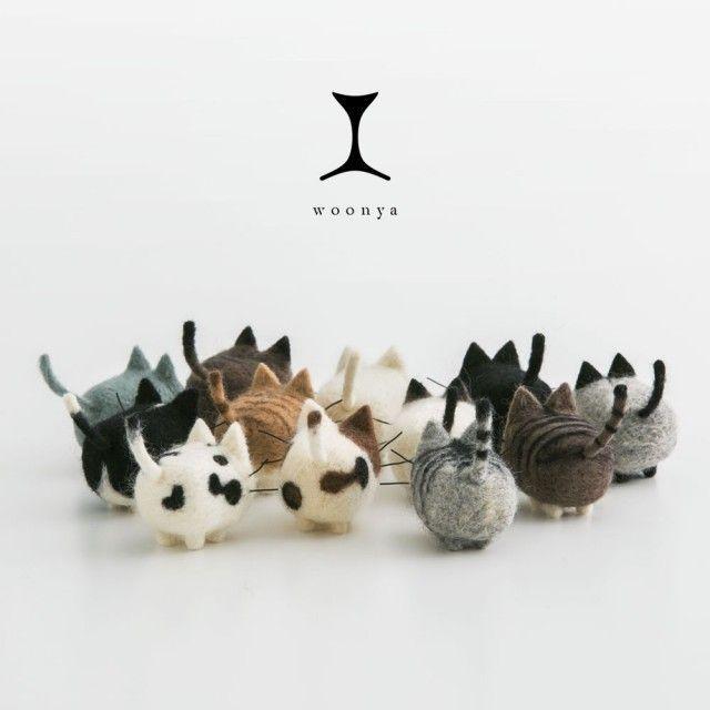woonya - feltro cats