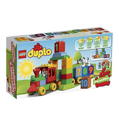 LEGO DUPLO - Aprende jugando: El tren de los números (10558)