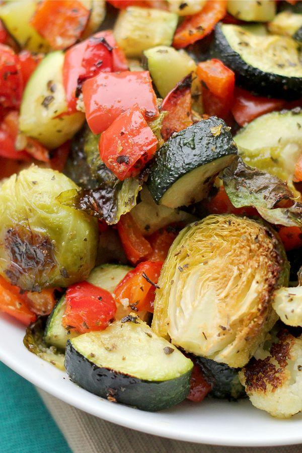 Roasted Autumn Vegetable Medley Recipe Paleo