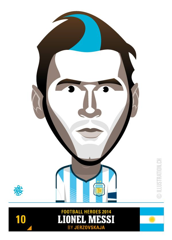 Lionel Messi – Team Argentina – Football Heroes 2014