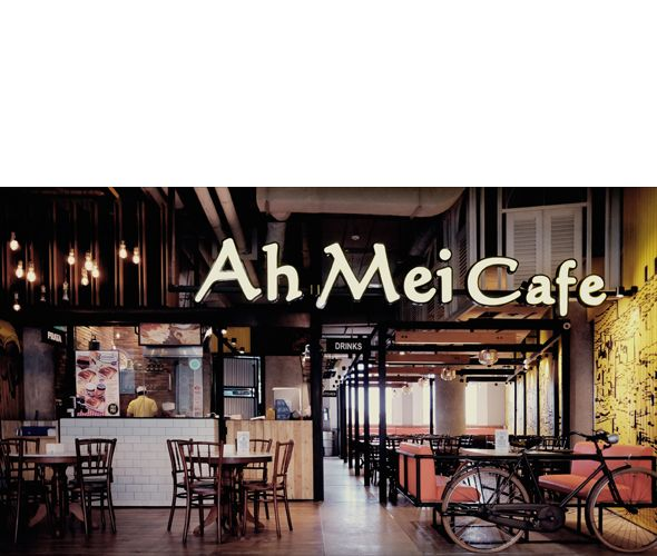AhMei Cafe @One Belpark by MODERNSPACE modernspacedesign.com