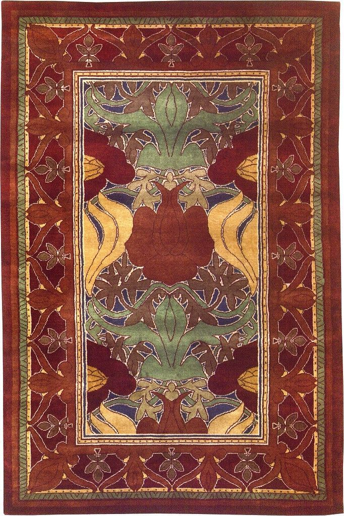 1000 images about arts and crafts rugs on pinterest for Arts and crafts style rug