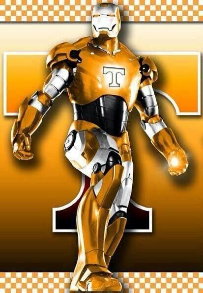 Even Iron Man Knows The Right Team Baby Go Vols Go