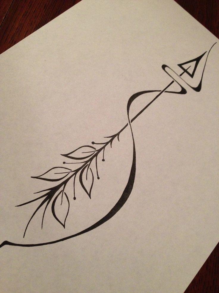 The 15 best Arrow Tattoo Ideas images on Pinterest   Arrow tattoo ...
