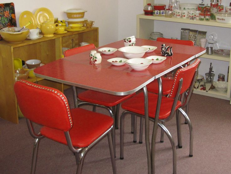 Best 25 Retro Dining Table Ideas On Pinterest  Mid Century Extraordinary Retro Dining Room Tables Decorating Design