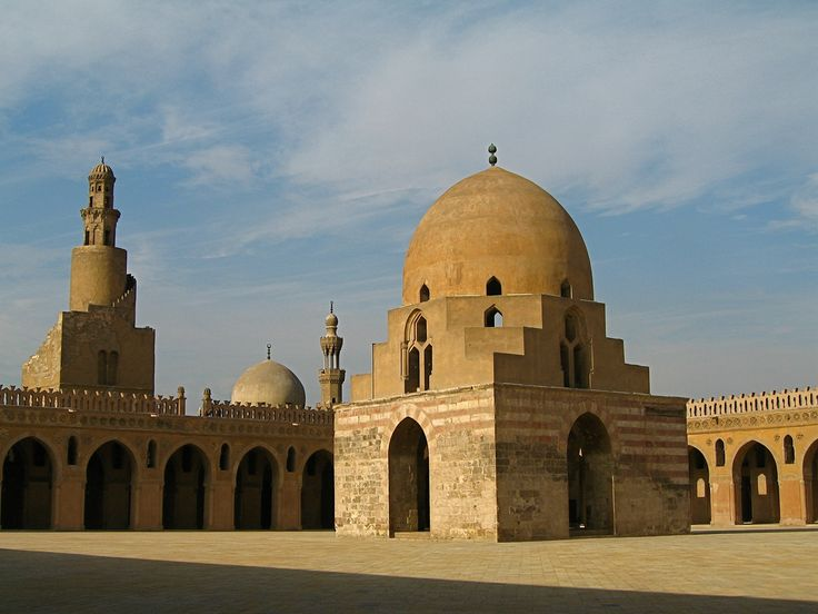 """Ibn Tulun mosque in Cairo, """"completed 879 A.D. in the Abbasid style, is arguably the oldest mosque in the city surviving in its original form and is the largest in terms of land area."""" (wikipedia)  Always, my experience of this mosque is that it breathes peace - a calm, worshipful silence graces the heart."""