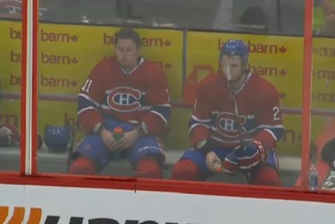 Gally and Chucky in the box together