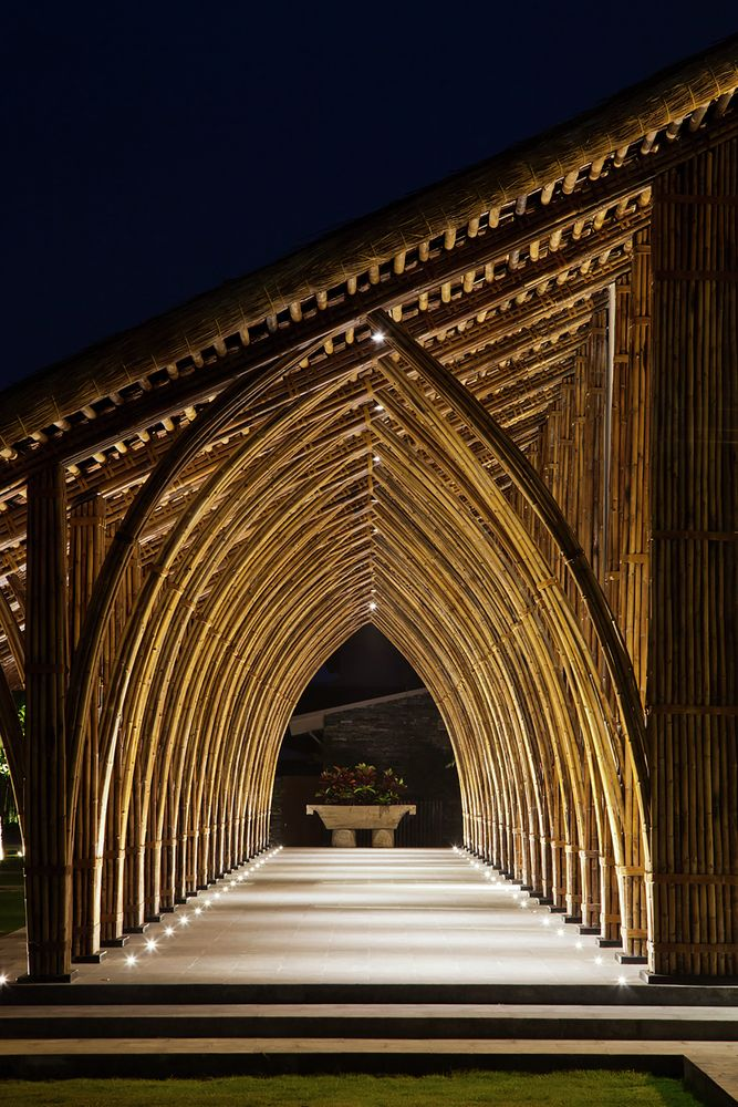 Galeria - Sala de Conferências Naman Retreat / Vo Trong Nghia Architects - 6