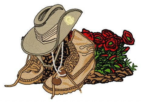USA army style embroidery design. Machine embroidery design. www.embroideres.com