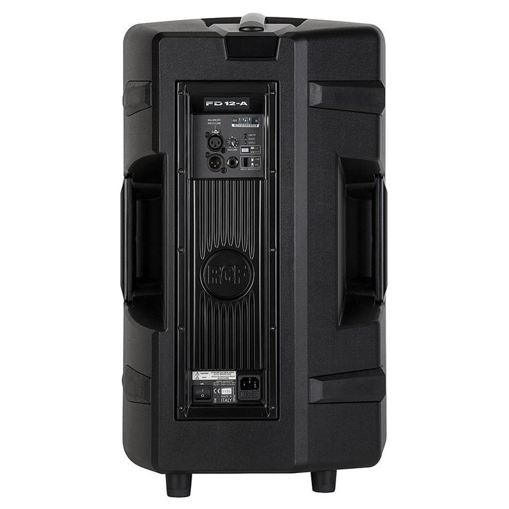 """RCF HD-12A active 2-way 12"""" & horn, 600 watts RMS (FoH Mid-Hi and/or fold-back monitors for 24 ch PA)"""
